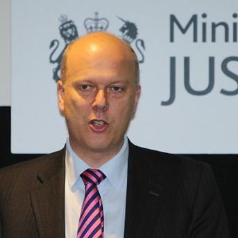 Chris Grayling. Photo: PA
