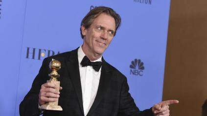 Image result for Hugh Laurie, The Night Manager golden globes
