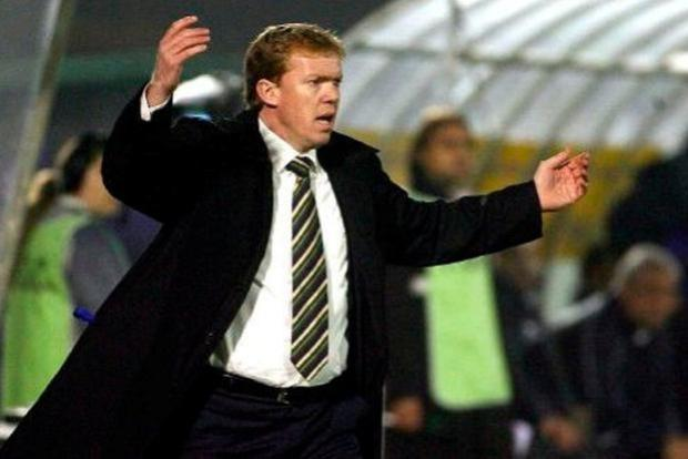 Steve Staunton, pictured during his time as Ireland senior manager. Photo: PA