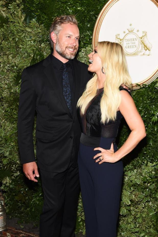 Eric Johnson and Jessica Simpson attend the 10th Anniversary Celebration of the Jessica Simpson Collection at Tavern on the Green on September 9, 2015 in New York City. (Photo by Jamie McCarthy/Getty Images for Jessica Simpson Collection)