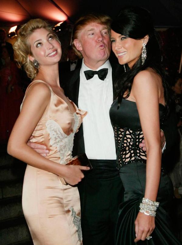 The Trumps at the Met Gala through the years - Independent.ie