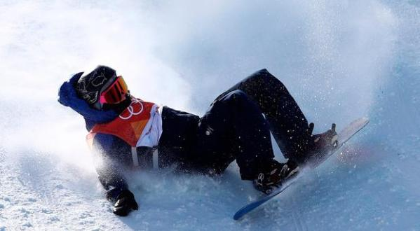 Watch: Aimee Fuller's scary Winter Olympics crash in ...