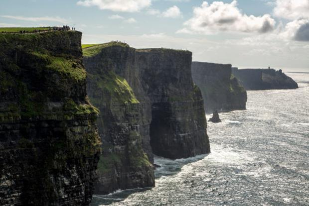 Peter tumbled 48ft off the Cliffs of Moher and survived