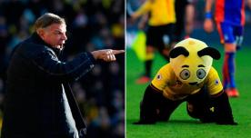 harry the hornet, sam allardyce, watford, crystal palace, premier league