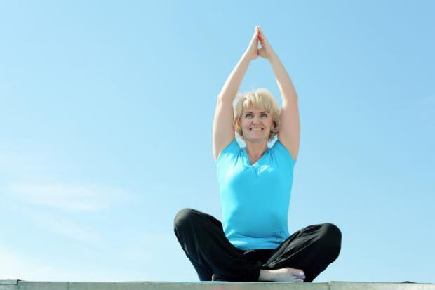 Experts recommend gentle exercise such as yoga as well as dietary changes