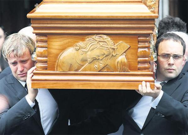 Kian's song for dad moves mourners to tears - Independent.ie