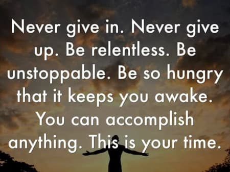 Now Is Your Time - Go And Live A Great Life