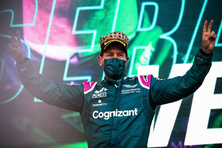 """Vettel, il ritorno sul podio: """"Merito del passo e gestione gomme"""""""