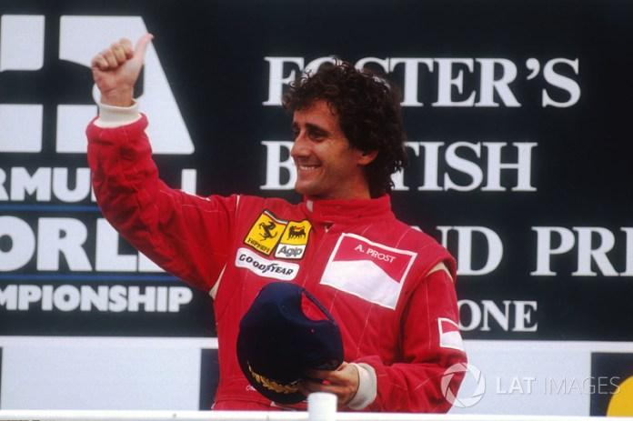 Alain Prost (5 victorias)