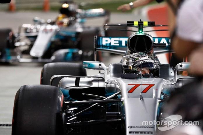 98: Valtteri Bottas, Mercedes AMG W08