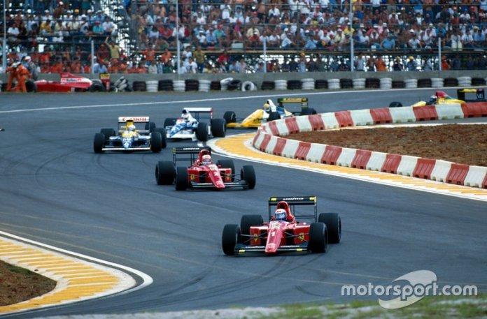 10: Nigel Mansell y Alain Prost (Ferrari)