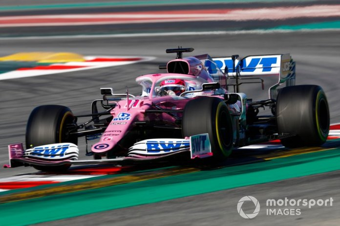 Racing Point RP20 y Mercedes W10