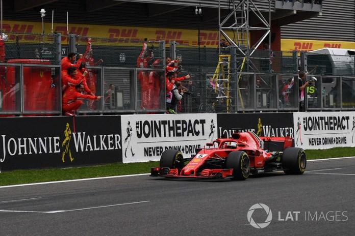 Bélgica 2018: gana y mantiene vivas sus opciones de título. Supera a Prost en victorias totales.