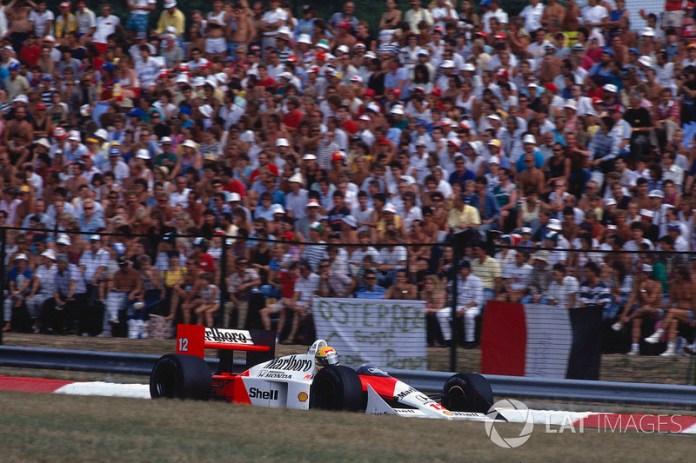19. GP de Hungría 1988: Ayrton Senna y Alain Prost (McLaren)