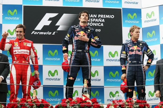 57- Fernando Alonso, 2º en el GP de España 2010 con Ferrari