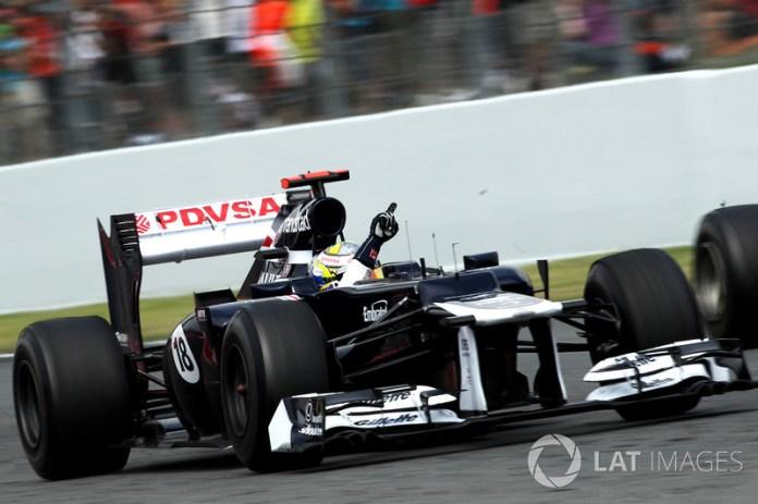 96: Pastor Maldonado, Williams FW34