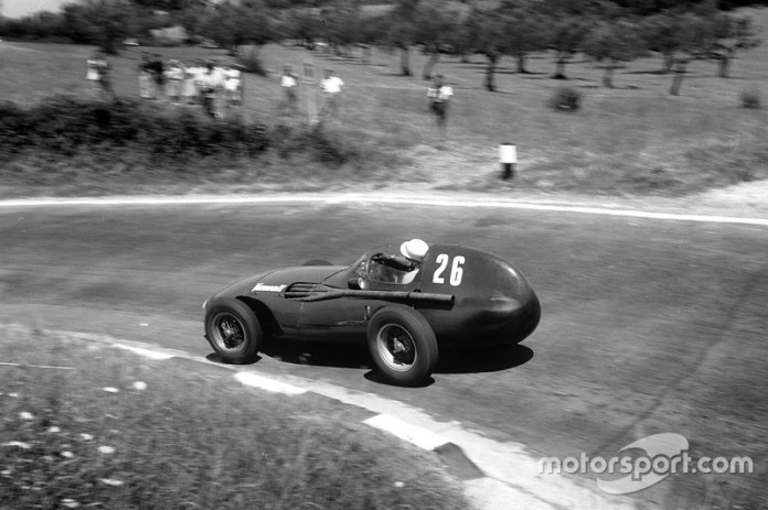 Stirling Moss, Vanwall, GP de Pescara de 1957
