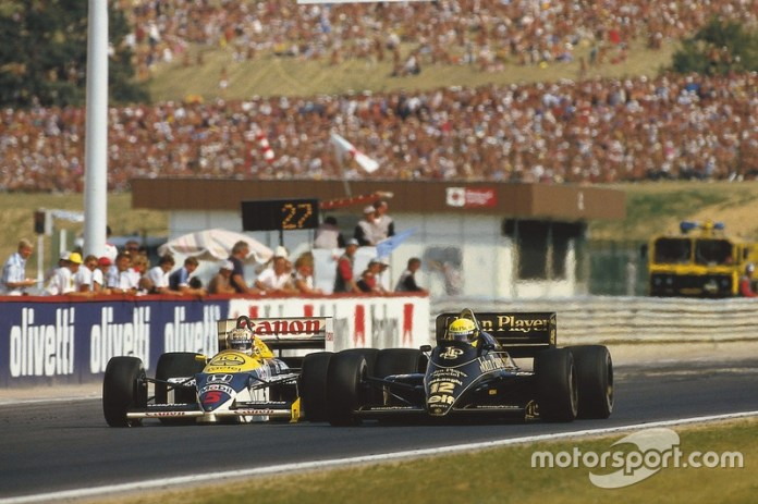 Brands Hatch 1986: un duelo victoria en casa con Nelson PIquet