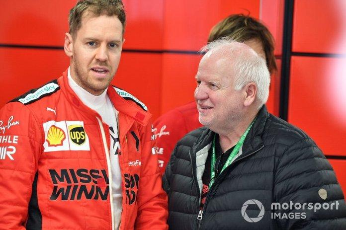 Sebastian Vettel, Ferrari y su padre Norbert Vettel