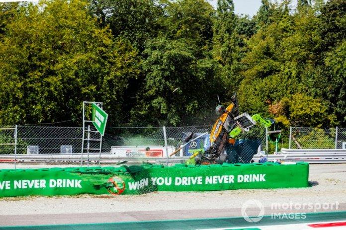 Alexander Peroni, Campos Racing, crashes