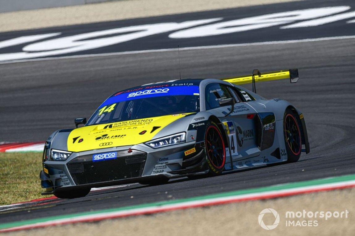 # 14 Audi Sport Italia, Audi R8 LMS GT3: Filip Salaquarda, Karol Basz, Vito Postiglione