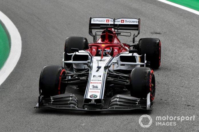 Raikkonen no quedó muy satisfecho con su actuación en el GP de Brasil