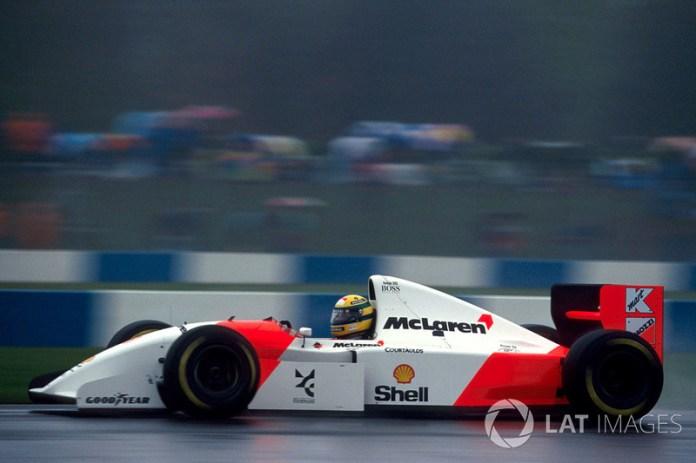 1993: McLaren-Ford MP4/8