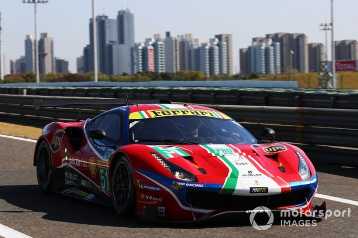 # 51 AF Corse Ferrari 488 GTE EVO: Alessandro Pier Guidi, James Calado