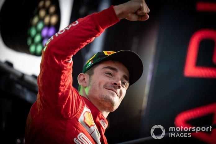 3.- Charles Leclerc, Ferrari