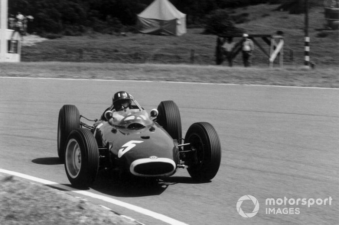 Sudáfrica, 28 de diciembre de 1963: Graham Hill, BRM P57
