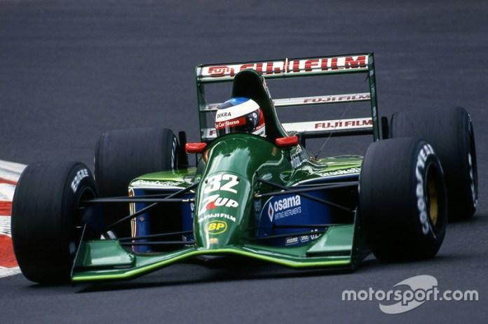 1991: el primer casco de Schumi en F1