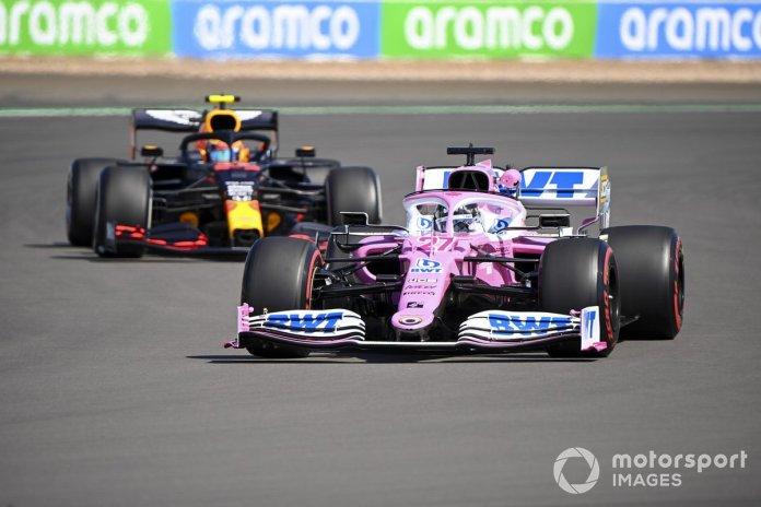 Nico Hulkenberg, Racing Point RP20, Alex Albon, Red Bull Racing RB16