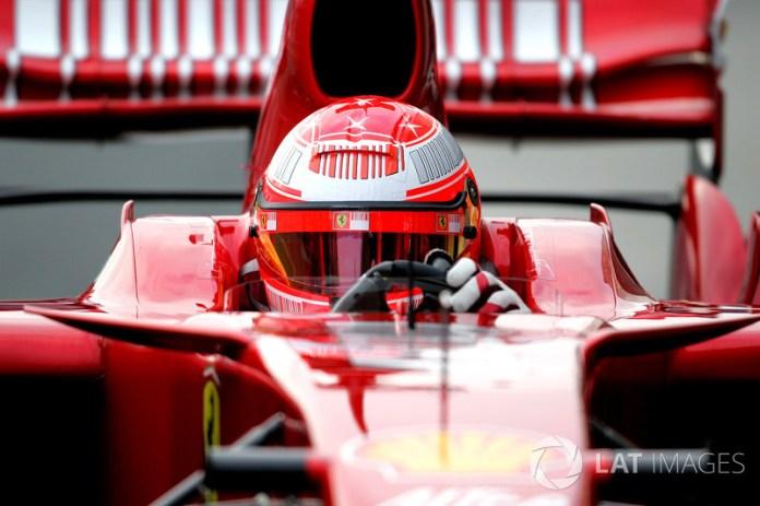 2007: pruebas con Ferrari