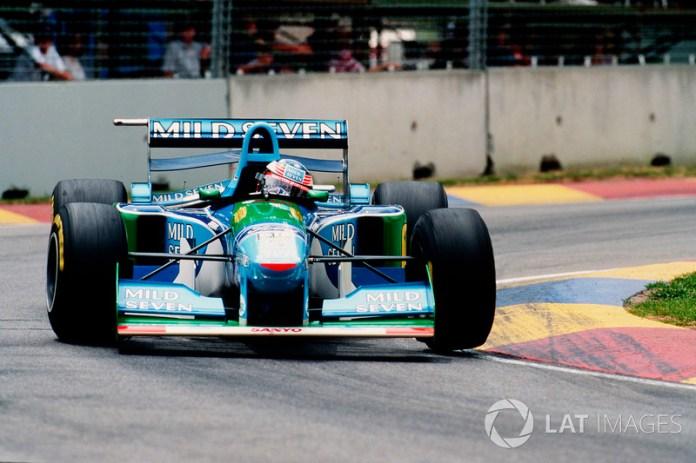Michael Schumacher,Benetton B194 Ford