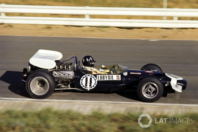Graham Hill, Lotus 49C