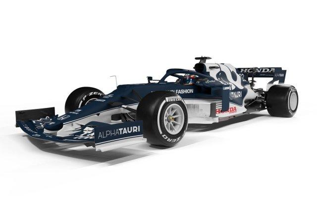 AlphaTauri presenta el AT02 con cambio de diseño para la F1 2021