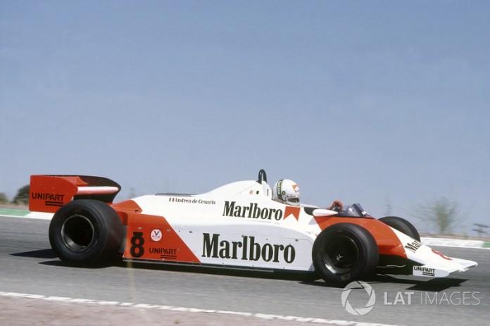 1981-1982: McLaren-Ford MP4/1