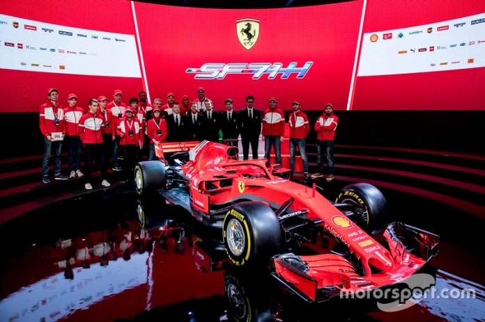 Presentación de la Ferrari SF71H de 2018