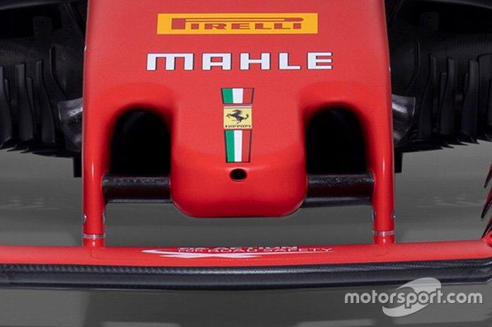 Ferrari SF1000 detalle de la nariz