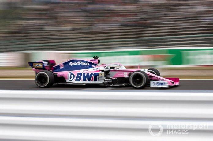8º Sergio Perez, Racing Point RP19 (1:29.299)