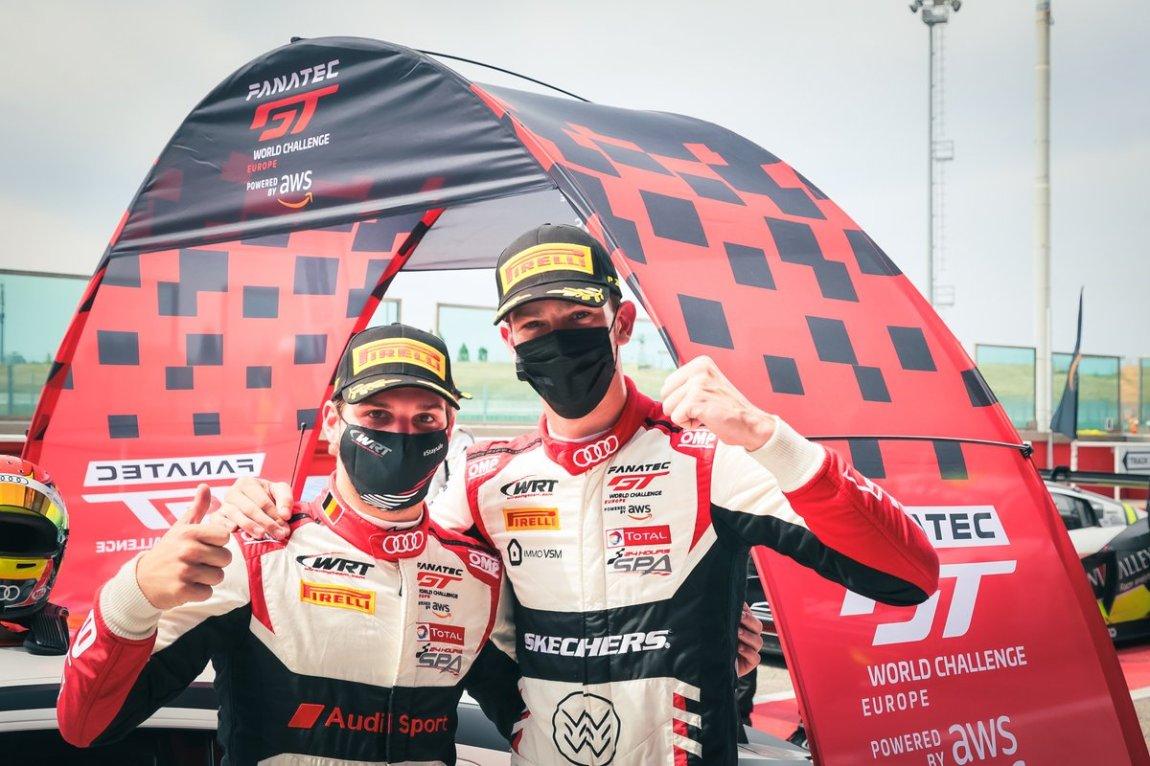 # 32 Team WRT Audi R8 LMS GT3: Charles Weerts, Dries Vanthoor