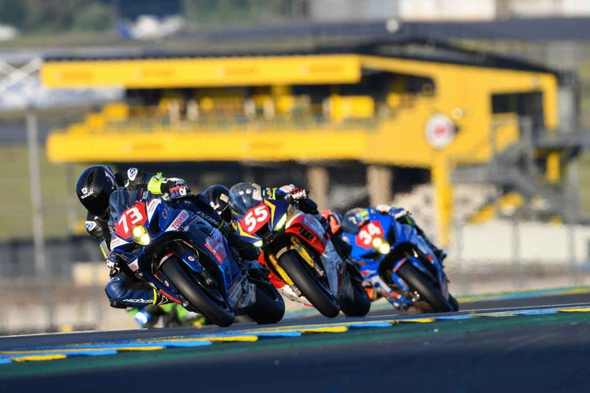 # 73 Team Space Moto: Christophe Brard, Olivier Louault, Charles Roche