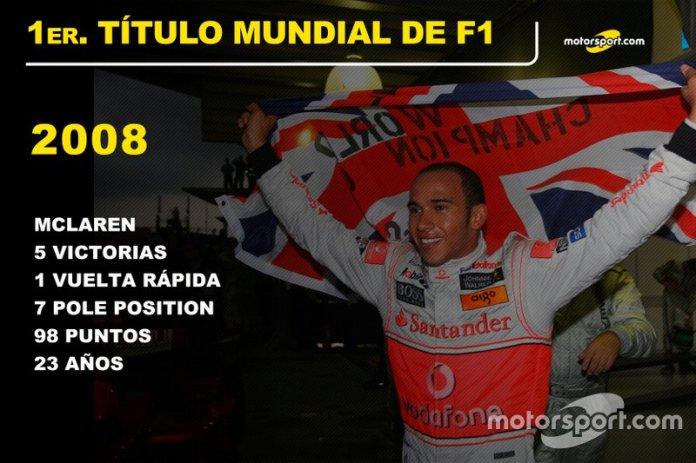 Lewis Hamilton, McLaren Título Mundial 2008