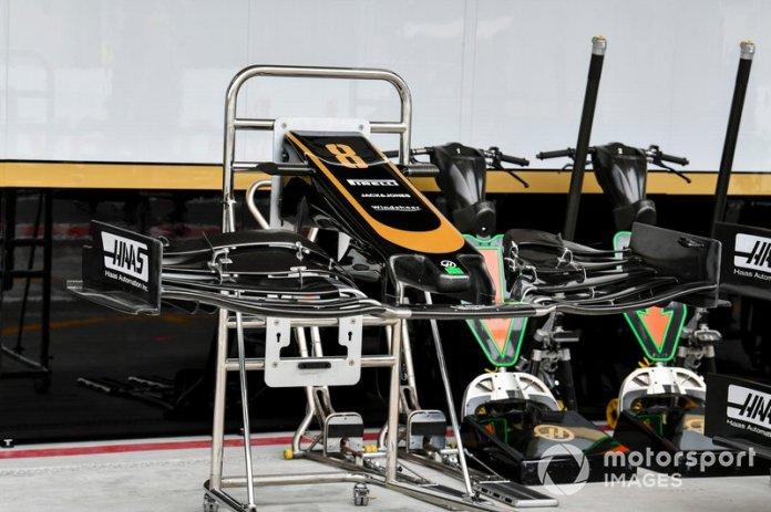 Alerón delantero del Haas F1 Team VF-19