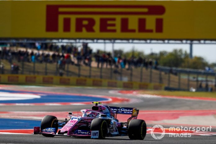 14.- Lance Stroll, Racing Point RP19, 1m34.100s