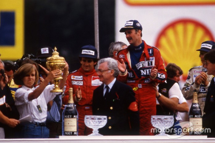 2. GP de Gran Bretaña 1986: Nigel Mansell y Nelson Piquet (Williams)