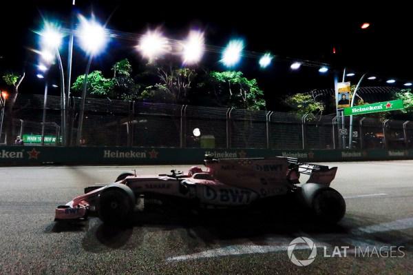 Esteban Ocon, Sahara Force India F1 VJM10 at GP de ...