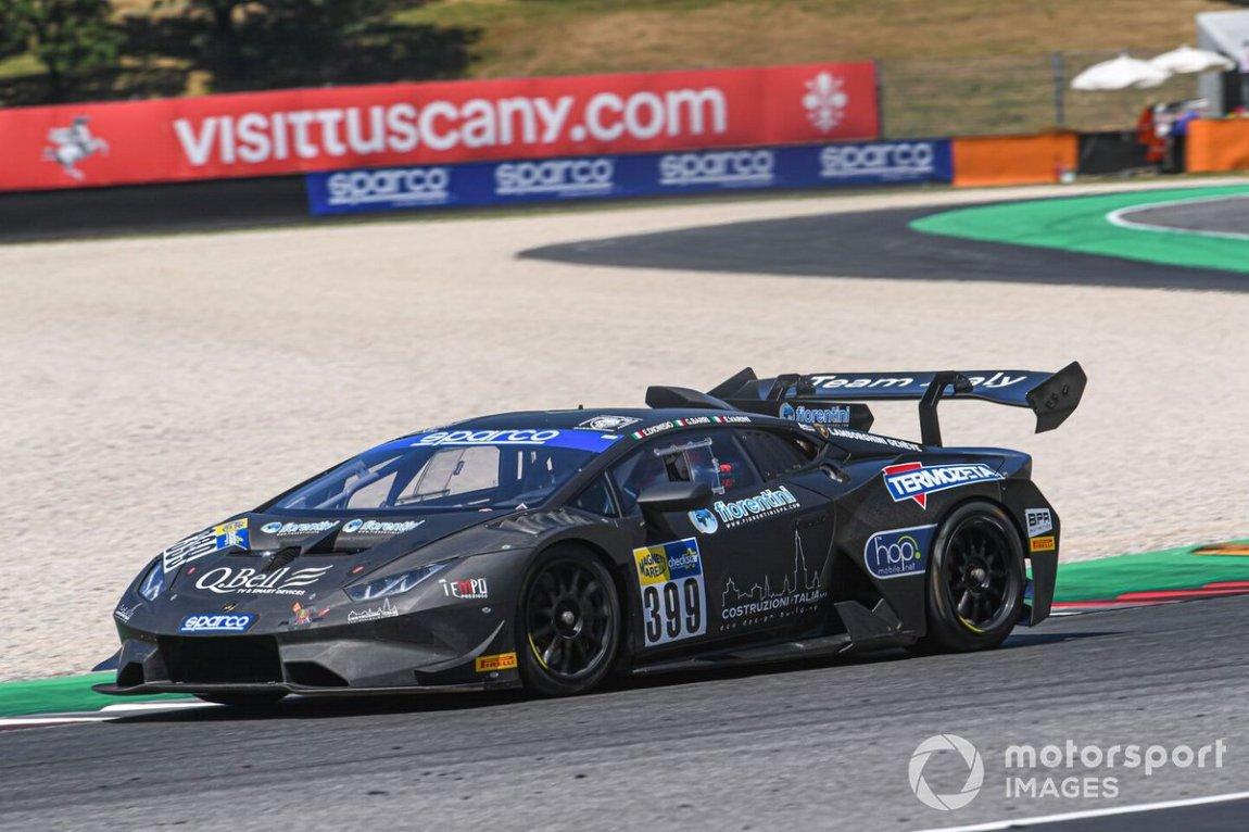 # 399 Team Italy, Lamborghini Huracan Super Trofeo: Ermanno Dionisio, Giacomo Barri, Alfredo Varini