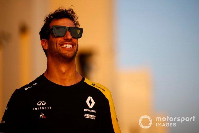 6.- Daniel Ricciardo, Renault F1 Team