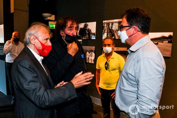 Ercole Colombo, Pierluigi Martini and James Allen